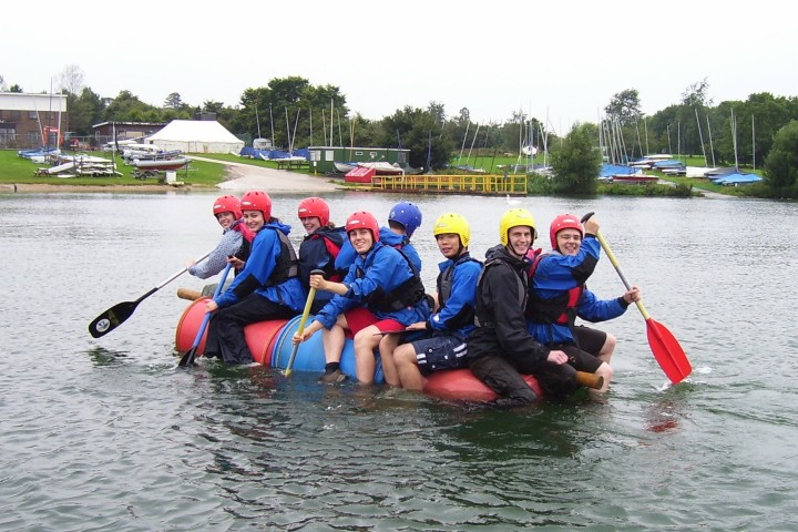 Team building at Grafham Water Centre