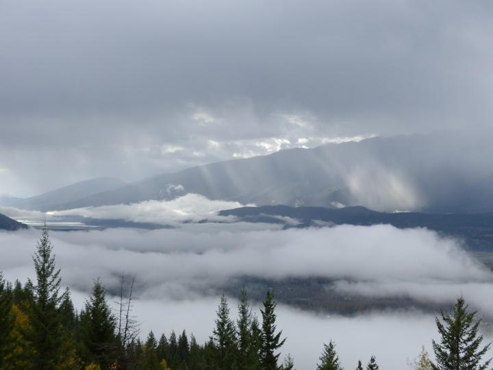 Mount Revelstoke fog