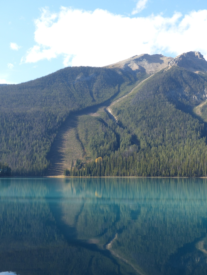 Emerald Lake avalanche