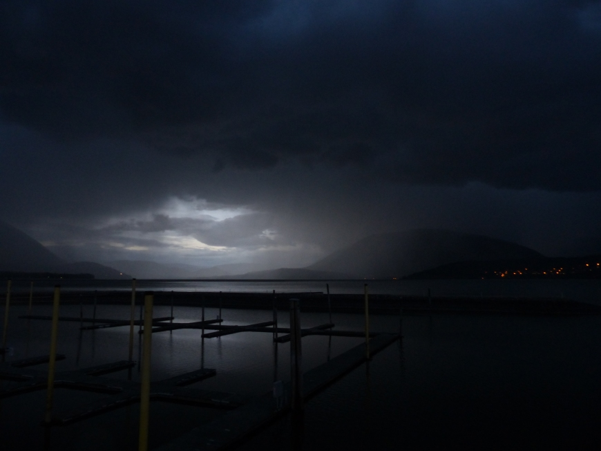 Shuswap Lake storm