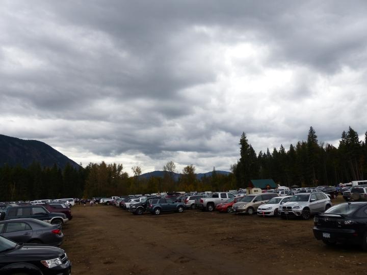 Salmon run car park