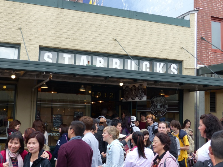 Original Starbucks Seattle Pike Place Market
