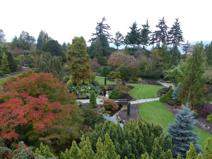 Quarry Gardens at Queen Elizabeth Park
