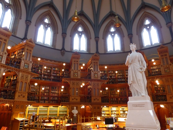 Centre Block Library Queen Victoria
