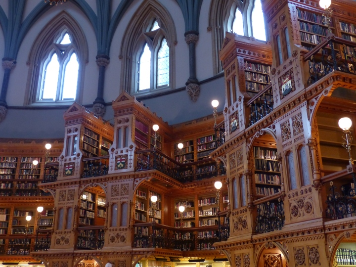 Centre Block Library