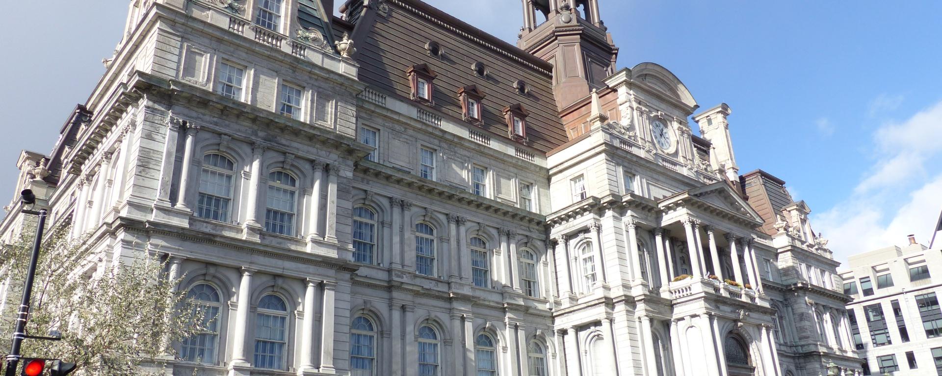 Hôtel de Ville (City Hall) in Vieux Montreal