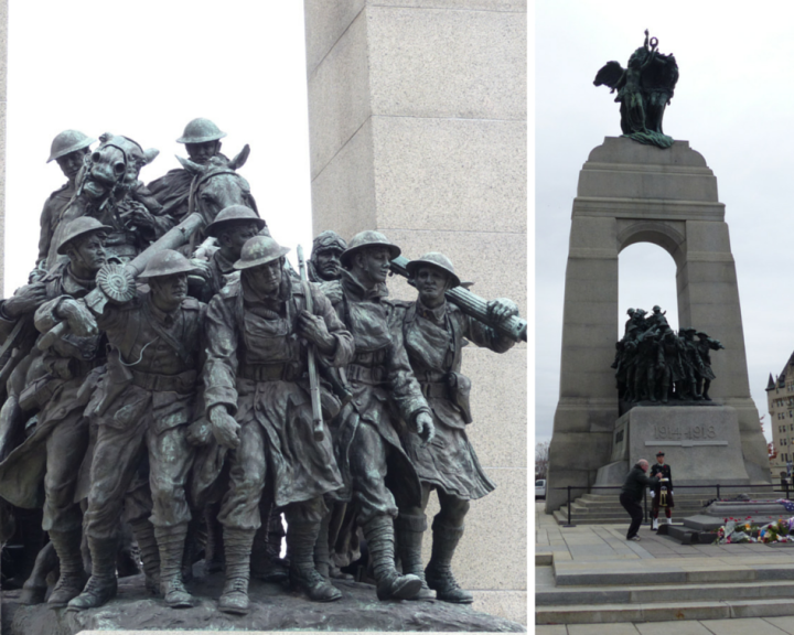 National War Memorial, Confederation Square