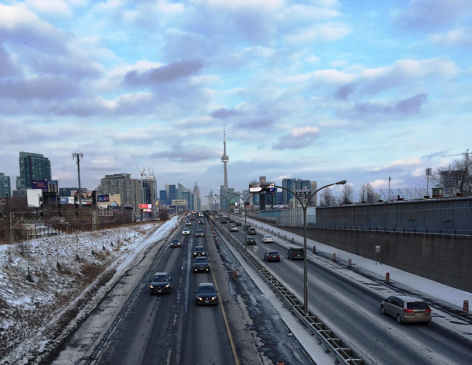 Gardiner Expressway Toronto