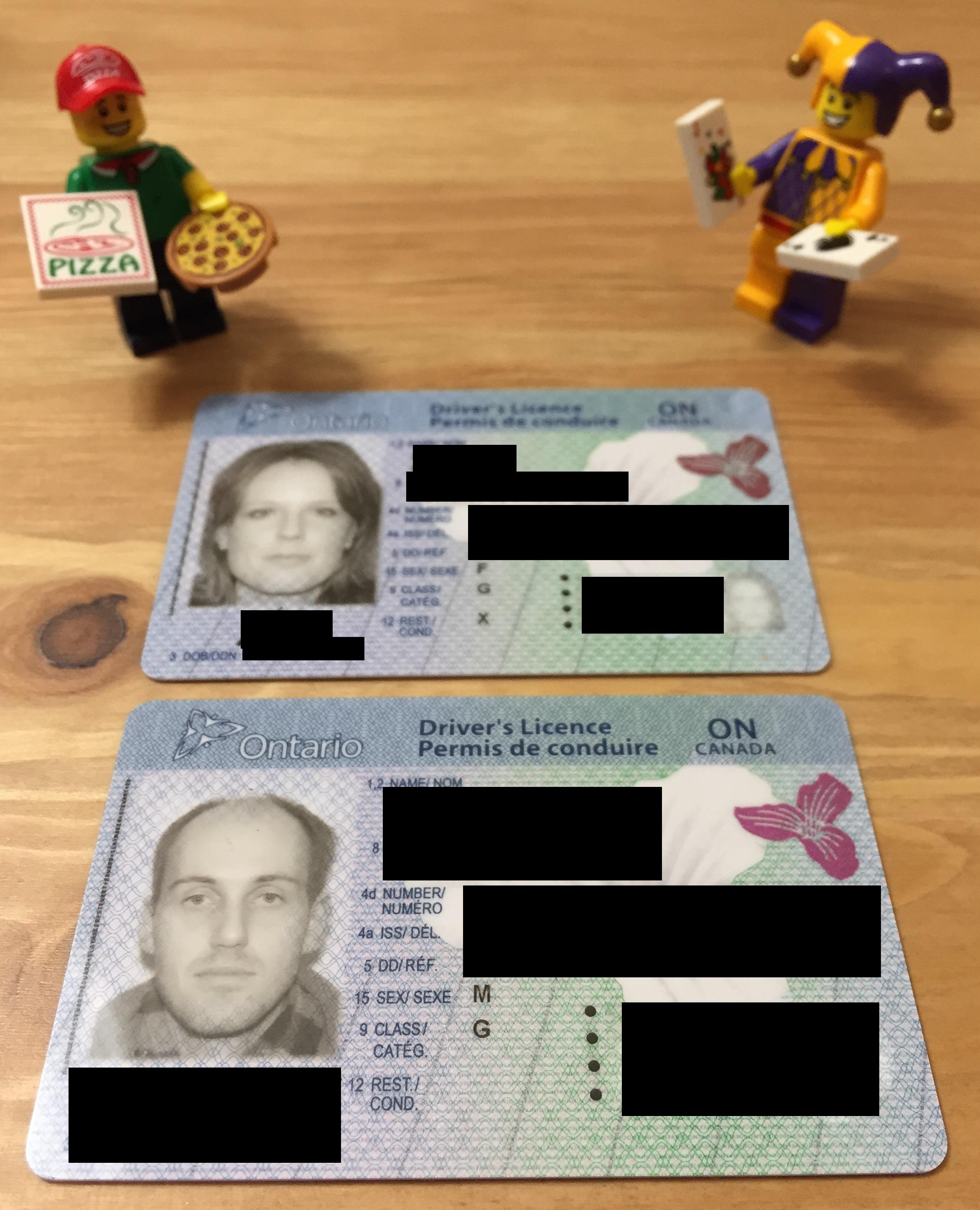 new drivers license photo ontario