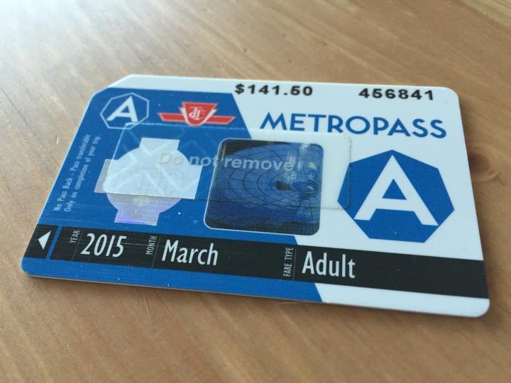 TTC Metropass