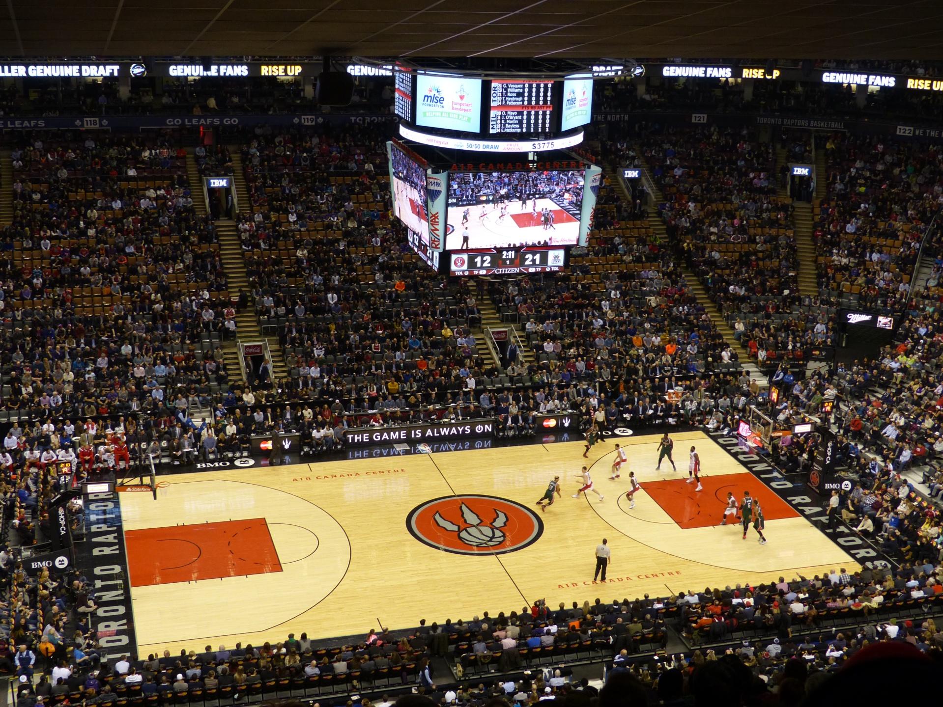Toronto Raptors Air Canada Centre
