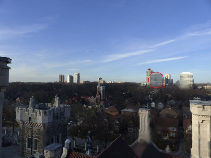 Downtown Toronto from Casa Loma