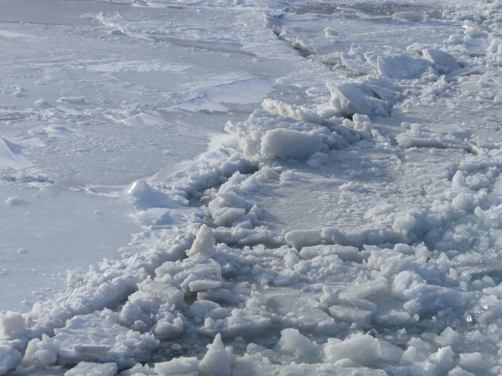 Toronto Harbour ice