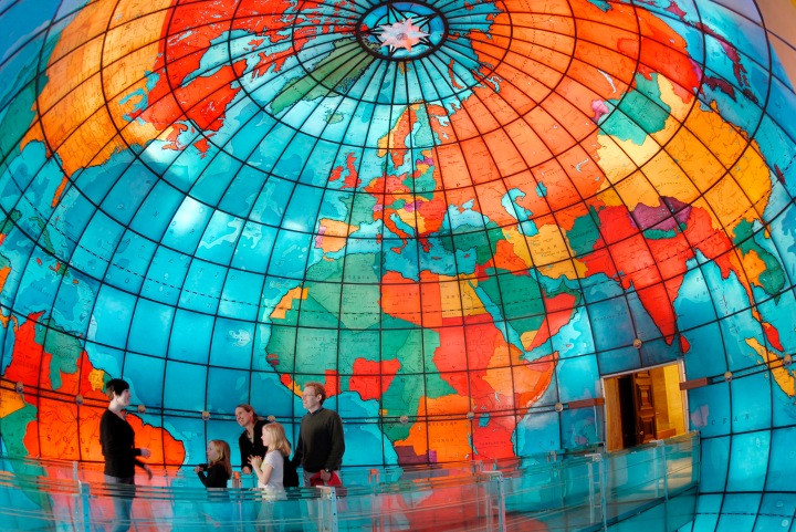 Inside the Mapparium