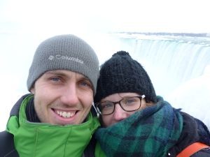 Selfie at the Niagara Falls