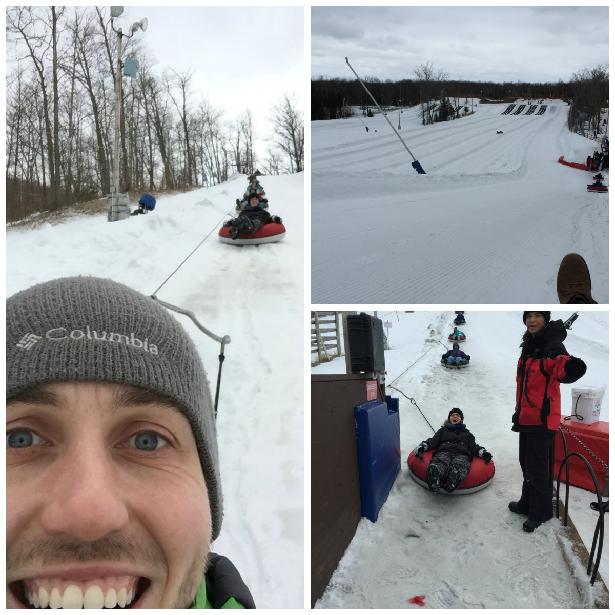 Snow tubing in Barrie, Ontario: Snow Valley vs Horseshoe Resort