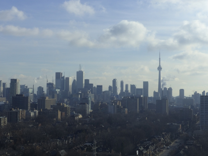 Downtown Toronto and the CN Tower