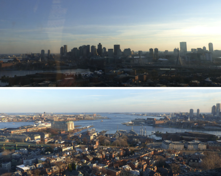Bunker Hill Monument views