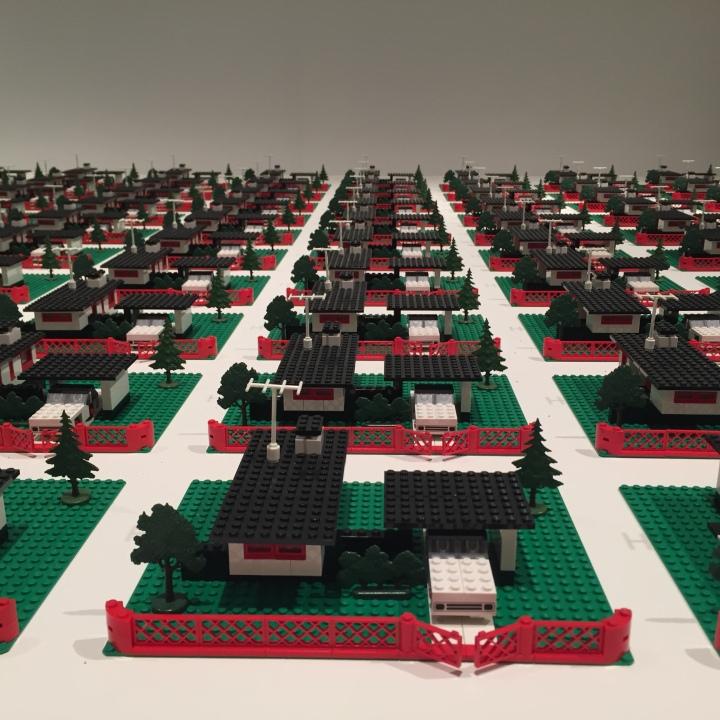 Lego houses Coupland