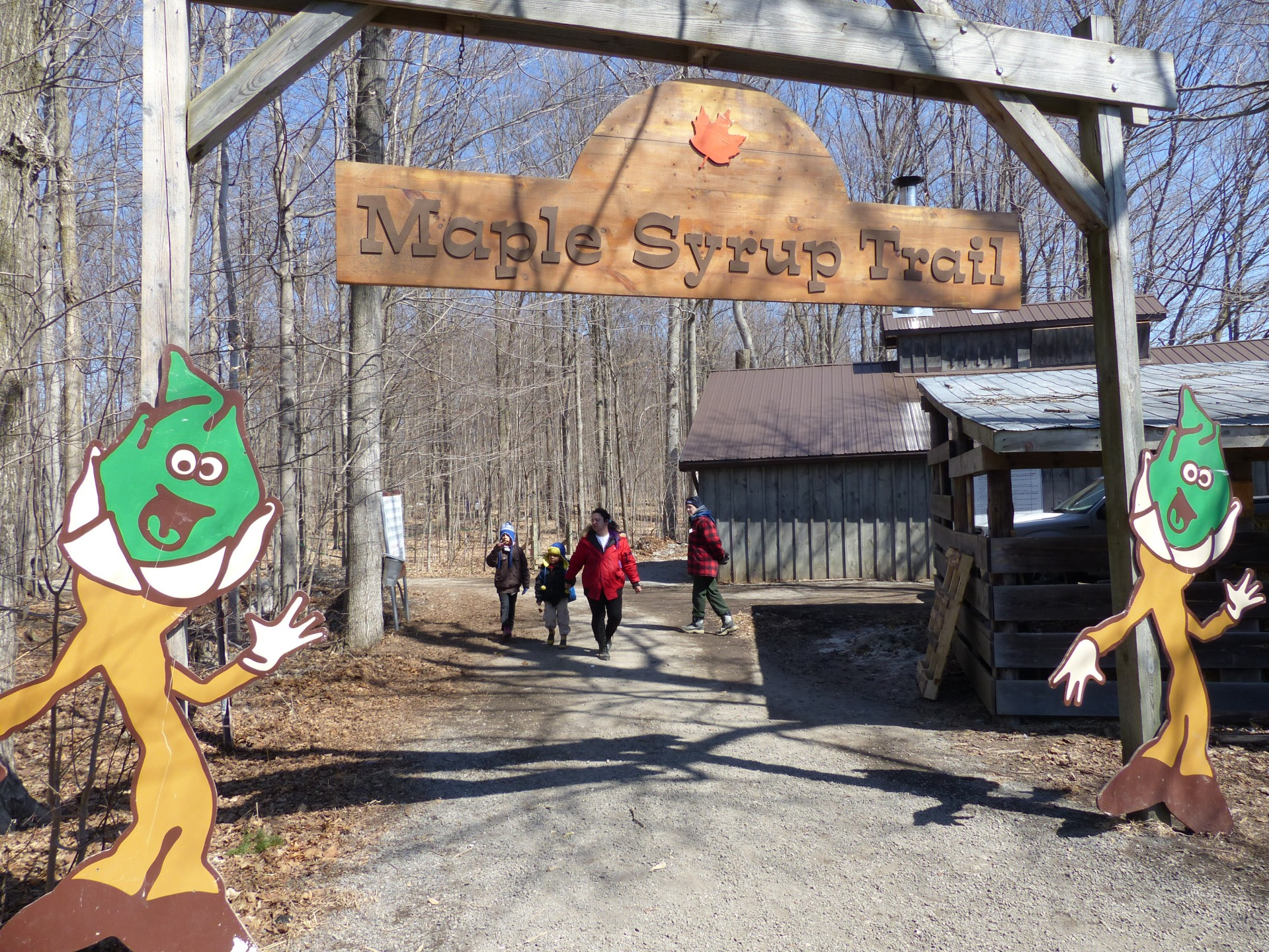Maple Syrup Trail Bruce Mill's