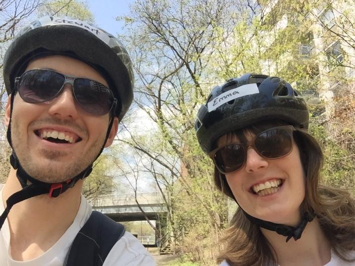 Selfie on bikes