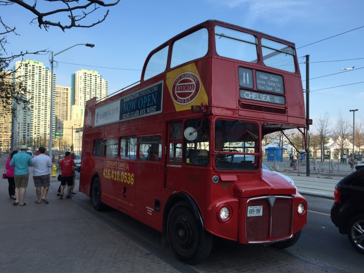 Sightseeing bus Toronto