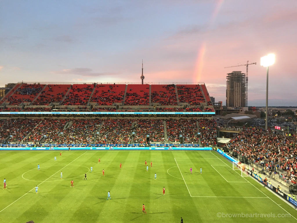 BMO Field sunset