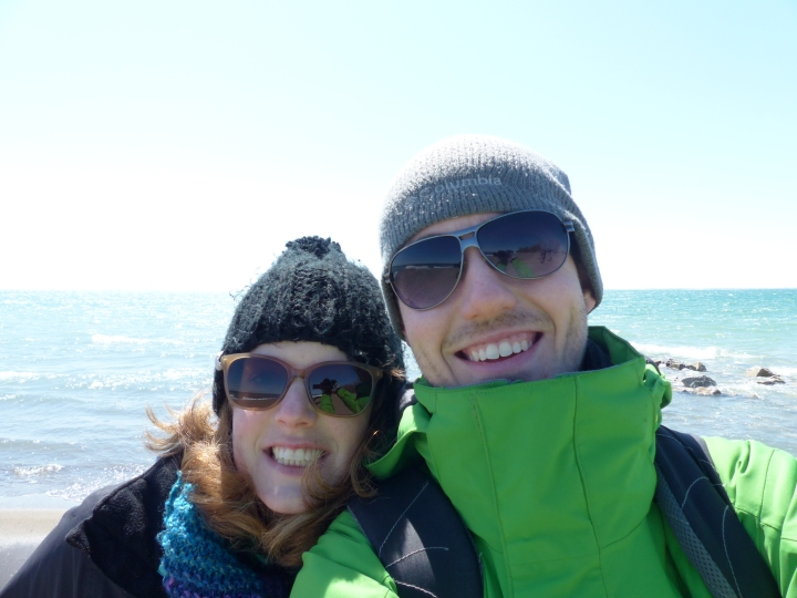 Selfie at Point Pelee National Park