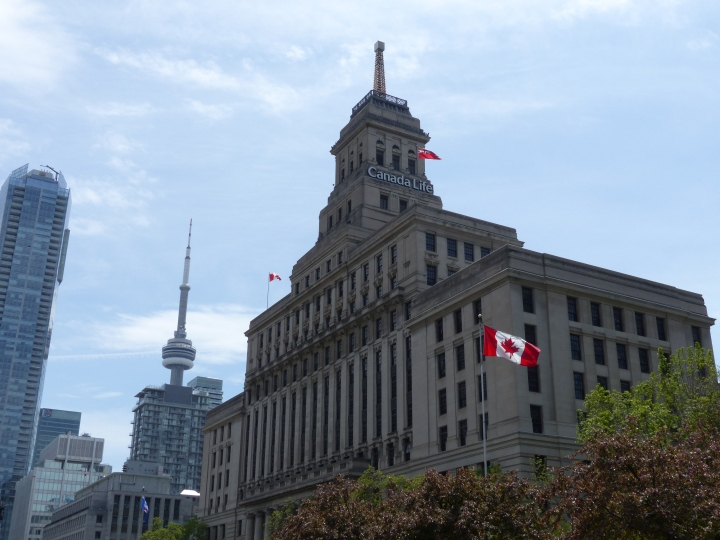Canada Life Building and CN Tower