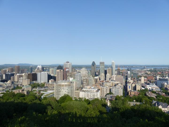 Mont Royal view