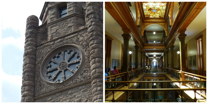 Ontario Legislative Building exterior and interior