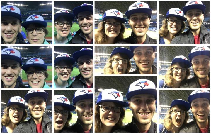 Blue Jays hats selfie