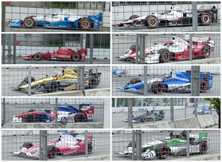 Indycar collage