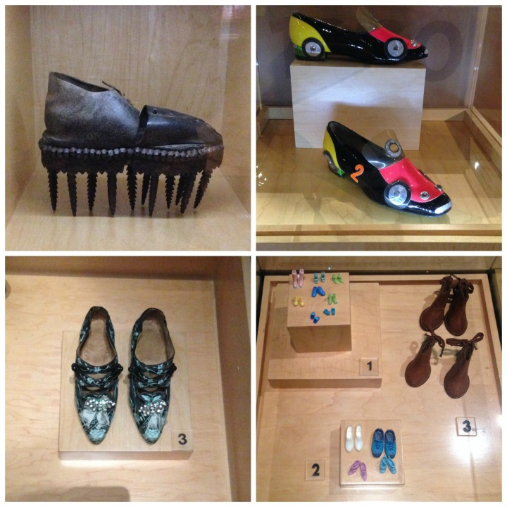 Shoes at Bata Shoe museum
