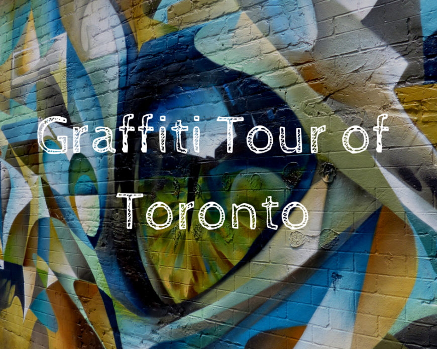 Graffiti Tour of Toronto