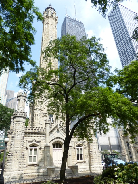 Chicago Water Tower and John Hancock Center