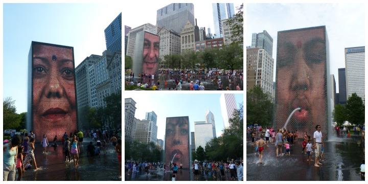 Crown Fountain Chicago