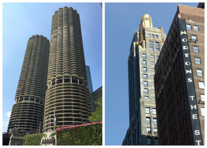 Marina City and Carbide and Carbon Building