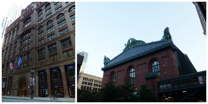 The Rookery and Harold Washington Library