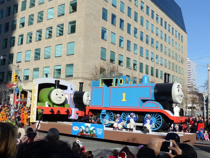 Thomas the Tank Engine Toronto Santa Claus Parade