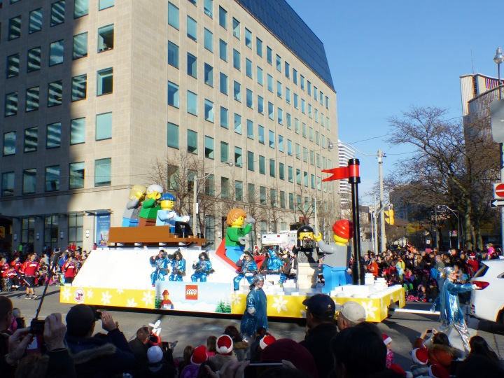 Lego Float Toronto Santa Claus Parade