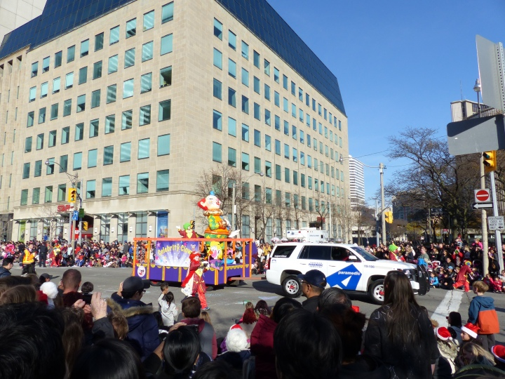 Celebrity Clowns Toronto Santa Claus Parade