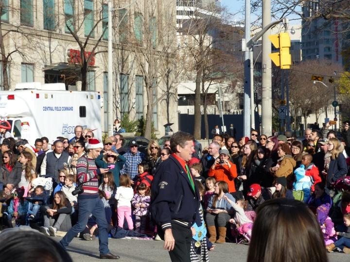 Mayor John Tory Santa Claus Parade