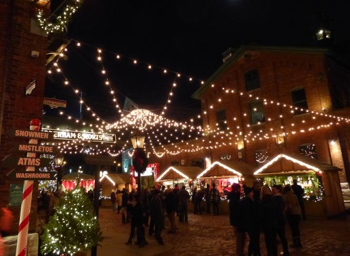Toronto Christmas Market 2015