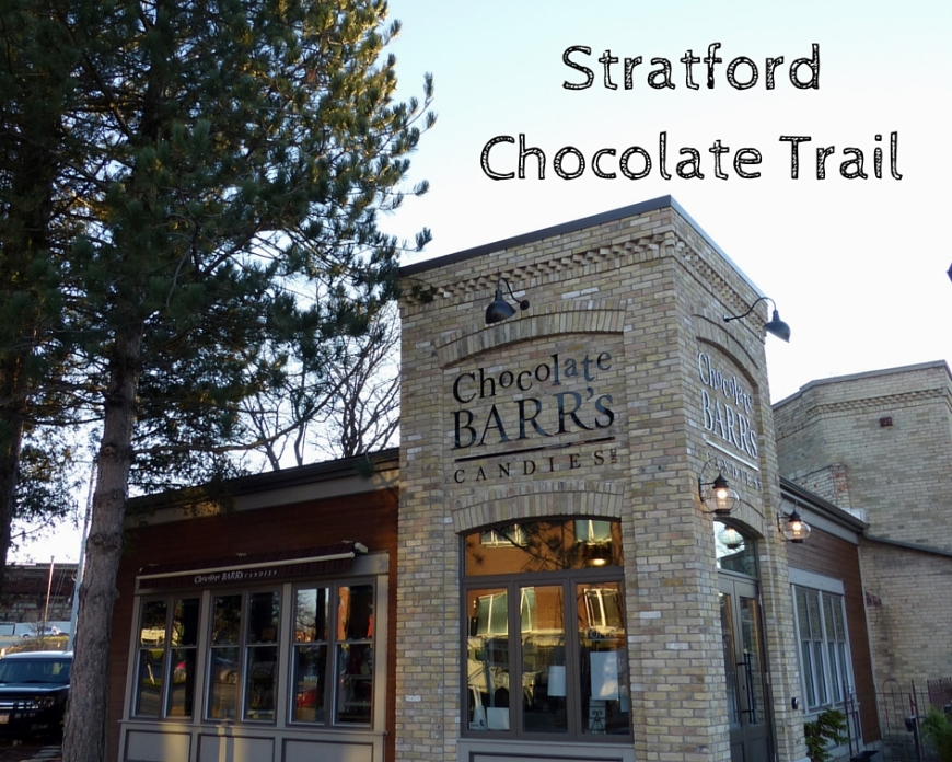 Stratford Ontario Chocolate Trail