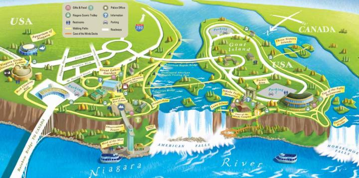 Niagara State Park Map