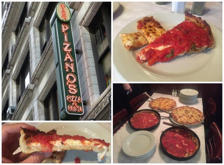 Pizano's Chicago Pizza Tour