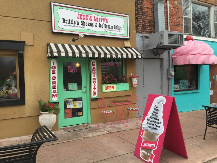 Jenn & Larry's Brittle & Shakes and Ice Cream Cakes Stratford