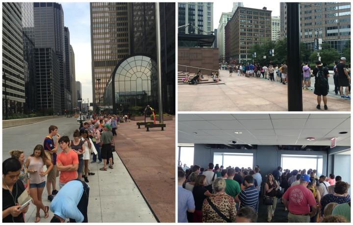 Willis Tower queues