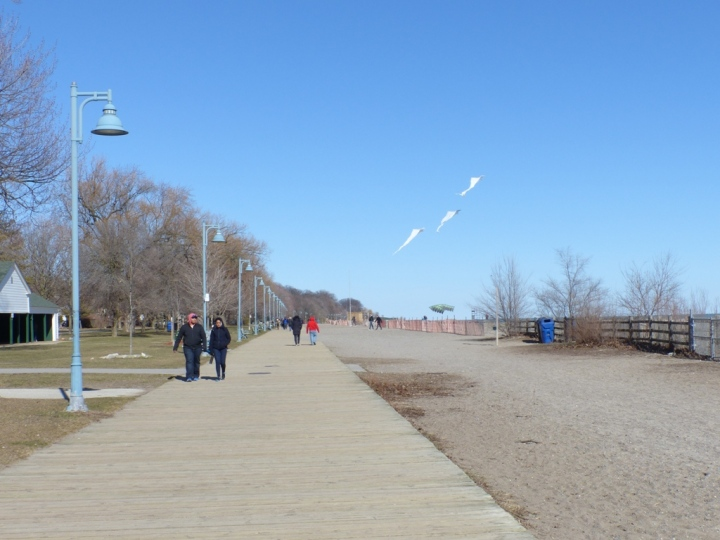 The Beaches Boardwalk Toronto